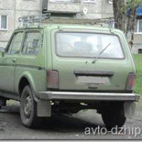 Легендарный советский внедорожник Lada 4×4 Нива