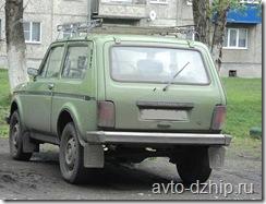 Внедорожник Lada Niva 4x4, легендарная Нива